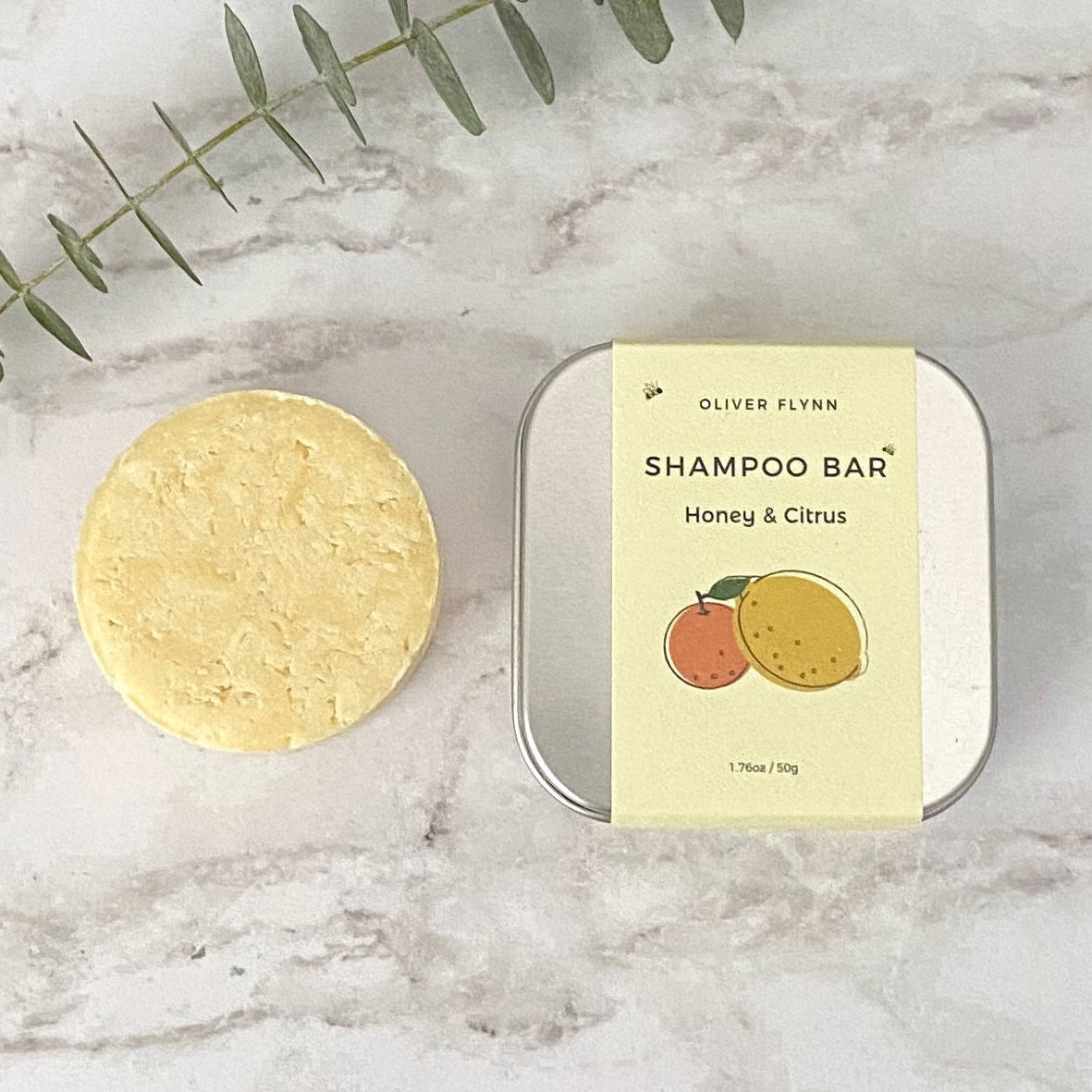Honey & Citrus Shampoo Bar
