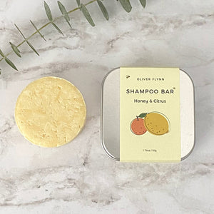 Open image in slideshow, Honey & Citrus Shampoo Bar