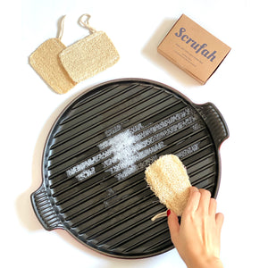 Open image in slideshow, Scrufah - Compostable Dish Scrubber
