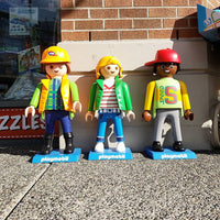 Playmobil Figures to greet you!