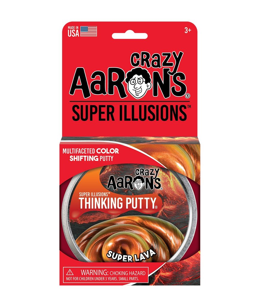 Crazy Aarons Thinking Putty SUPER LAVA