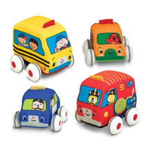 Load image into Gallery viewer, Melissa & Doug Pull-Back Town Vehicles