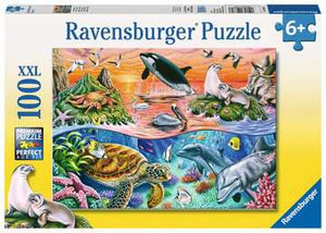 Ravensburger 100pc XXL Beautiful Ocean