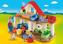 Load image into Gallery viewer, Playmobil - 1 2 3 - Family Home - 70129