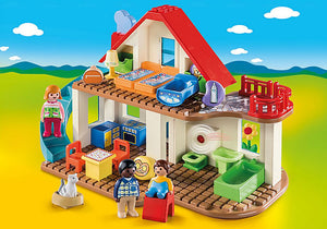Playmobil - 1 2 3 - Family Home - 70129