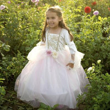 Load image into Gallery viewer, Great Pretenders Golden Rose Princess Dress SZ 3-4