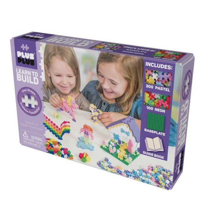 Plus Plus Learn to Build Pastel 400pc
