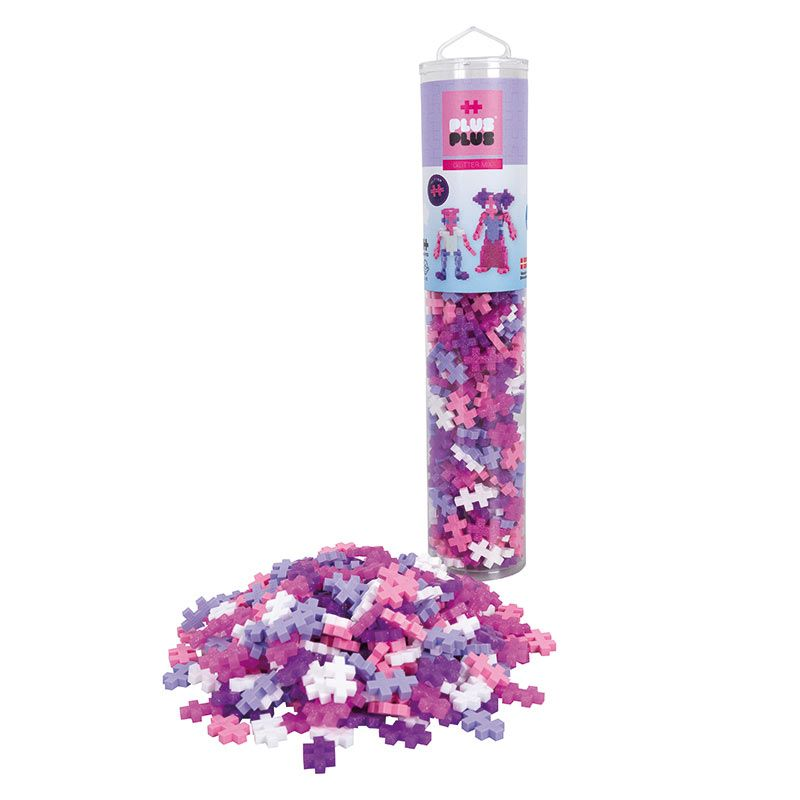 Plus Plus Tube - Glitter 240pc