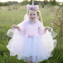 Load image into Gallery viewer, Great Pretenders Unicorn Tutu & Headband Set