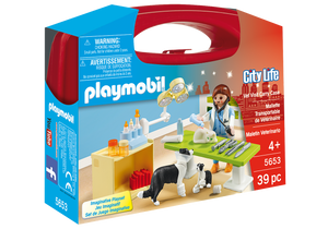 Playmobil - City Life - Vet Visit Carry Case - 5653