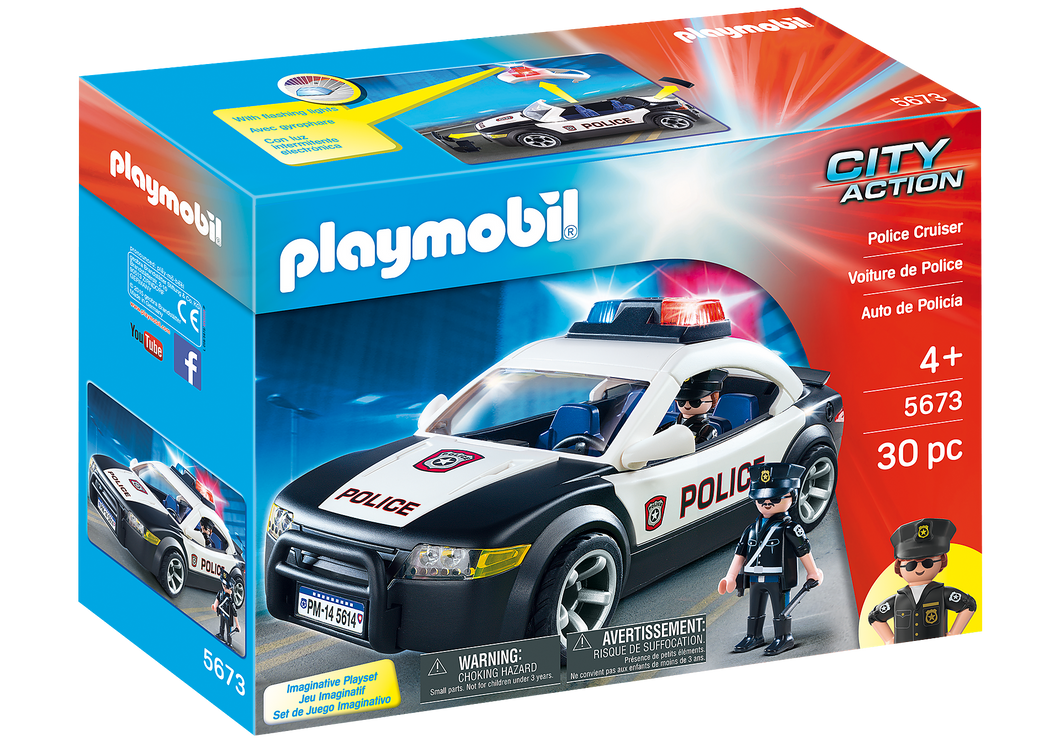 Playmobil - City Action - Police Car - 5673