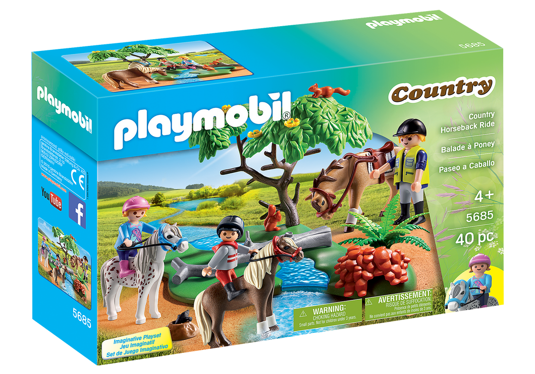 Playmobil - Country - Horseback Ride - 5685