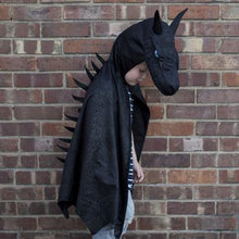 Load image into Gallery viewer, Great Pretenders Midnight Dragon Cape SZ 5-6