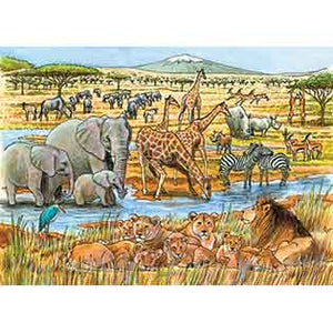 Out of Africa 35pc Tray Puzzle