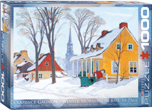 Eurographics 1000 Piece Winter Morning in Baie-St-Paul