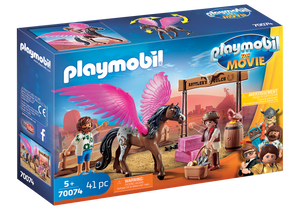 Playmobil - The Movie - Marla and Del with Flying Horse - 70074