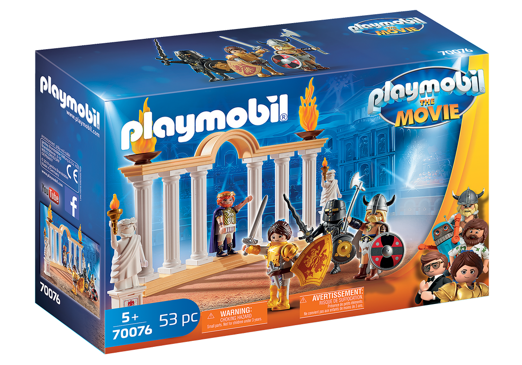 Playmobil - The Movie - Emperor Maximus in the Colosseum - 70076