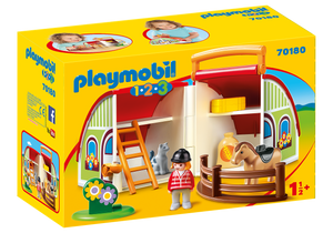 Playmobil - 1 2 3 - My Take Along Farm - 70180