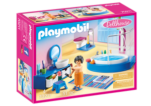 Playmobil - Dollhouse - Bathroom with Tub - 70211