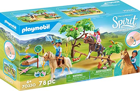 Playmobil - Spirit - River Challenge - 70330