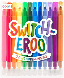 Switch-Eroo 12 colour changing markers