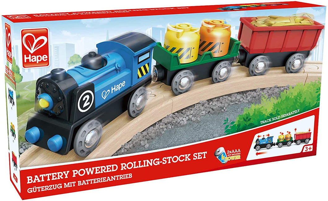 Battery Powered Rolling Stock Set