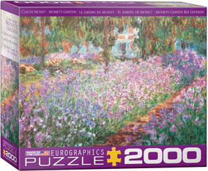 Eurographics 2000 Piece Monet's Garden by Claude Monet