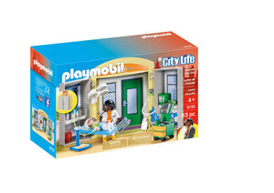 Playmobil - City Life - Hospital Play Box - 9110