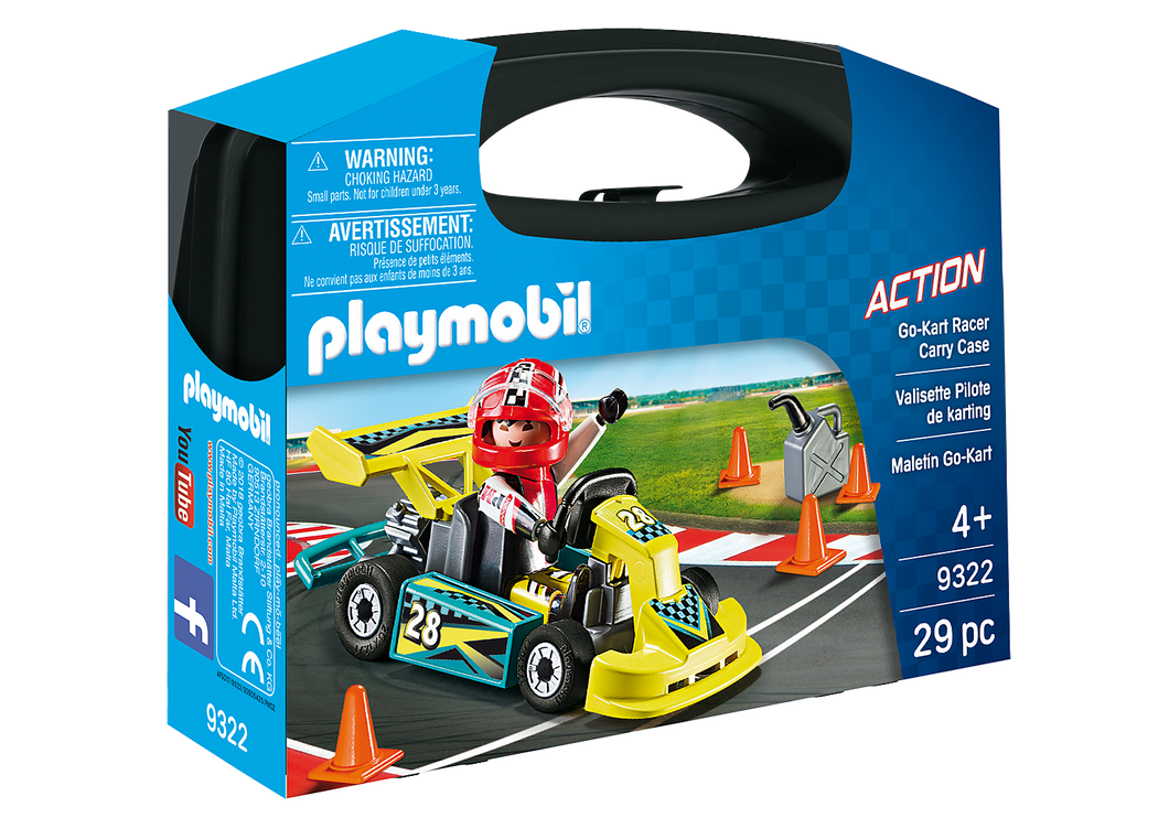 Playmobil - Action - Go-Kart Racer Carry Case - 9322