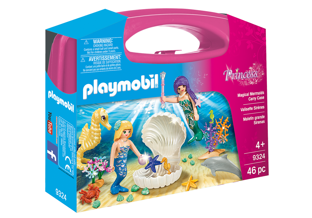 Playmobil - Princess - Magical Mermaids Carry Case - 9324