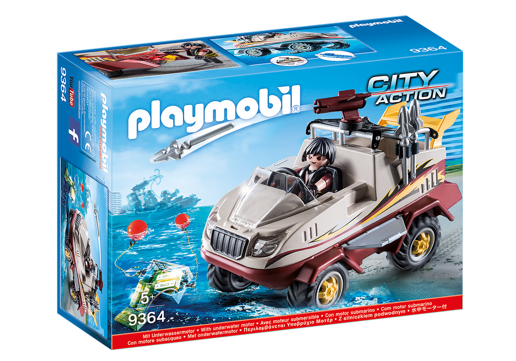 Playmobil - City Action- Amphibious Truck - 9364
