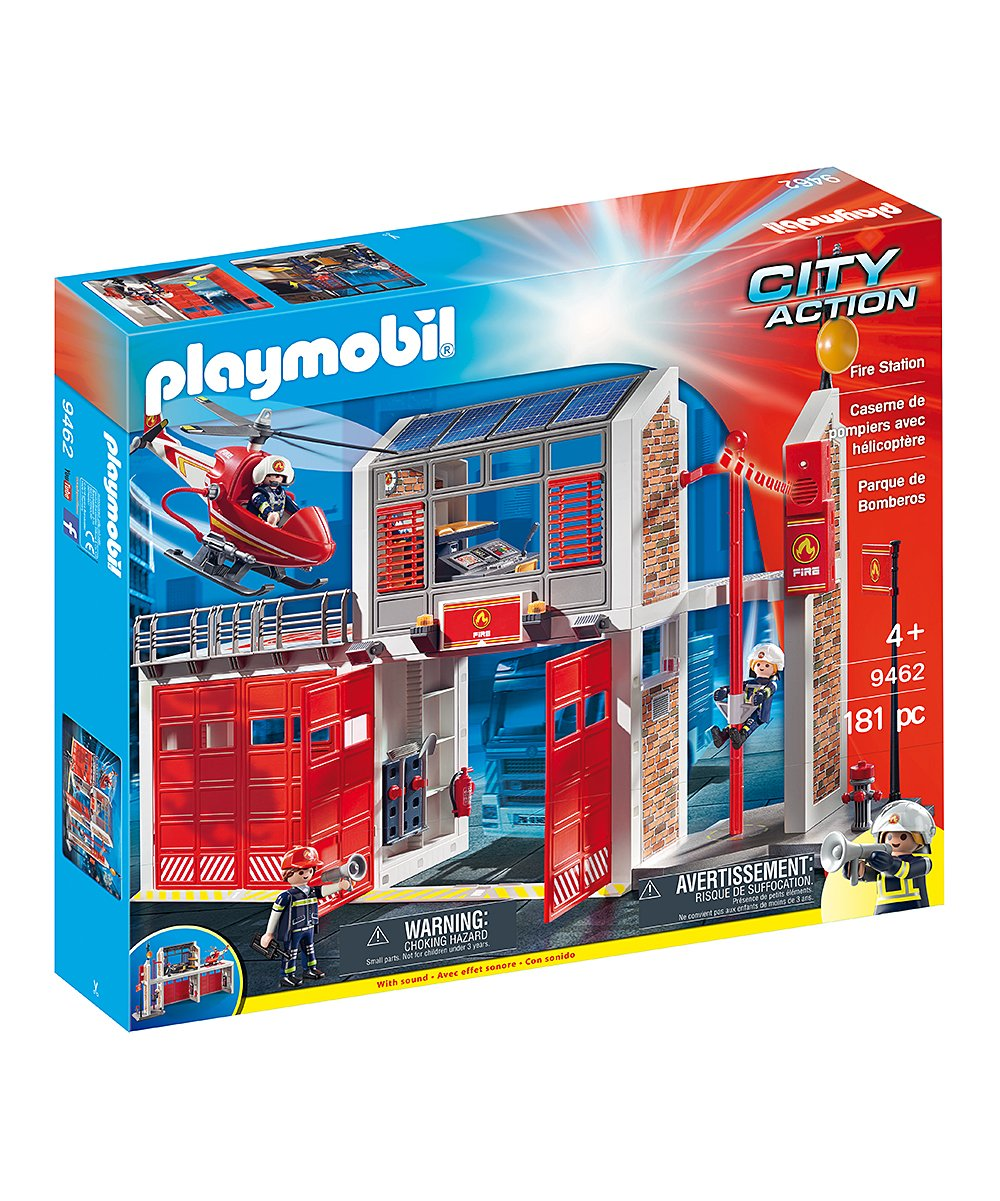 Playmobil - City Action - Fire Station - 9462