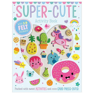 Super Cute Activity Book