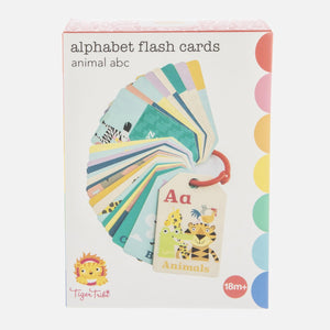 Alphabet Flash Cards Animal ABC