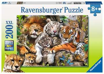 Ravensburger 200pc XXL Big Cat Nap