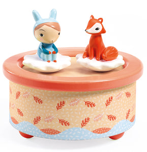 Djeco Magnetic Musical Box Fox Melody