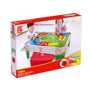 Hape Railway Play Table 18 mths+