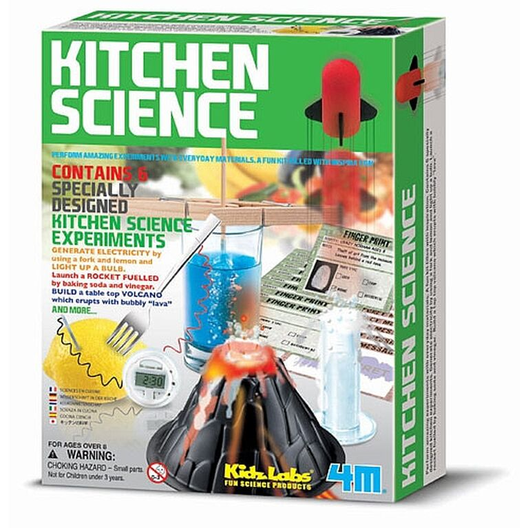 Kidzlabs Kitchen Science