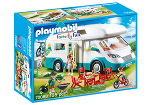 Playmobil - Family Fun - Family Camper - 70088