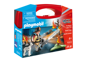 Playmobil - City Action - Fire Rescue Carry Case - 70310