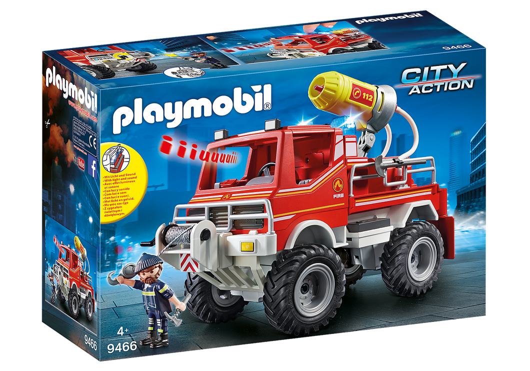 Playmobil - City Action - Fire Truck - 9466