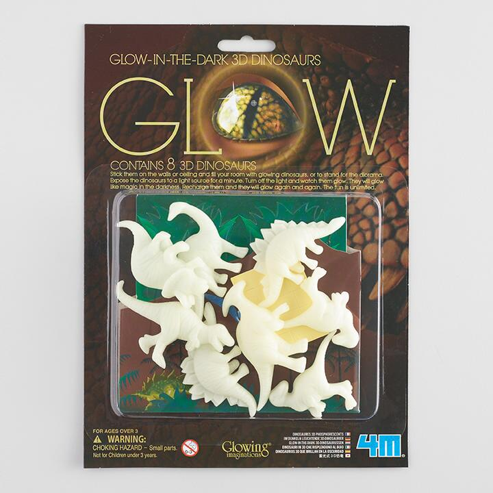 Glow in the dark - 3D Dinosaurs