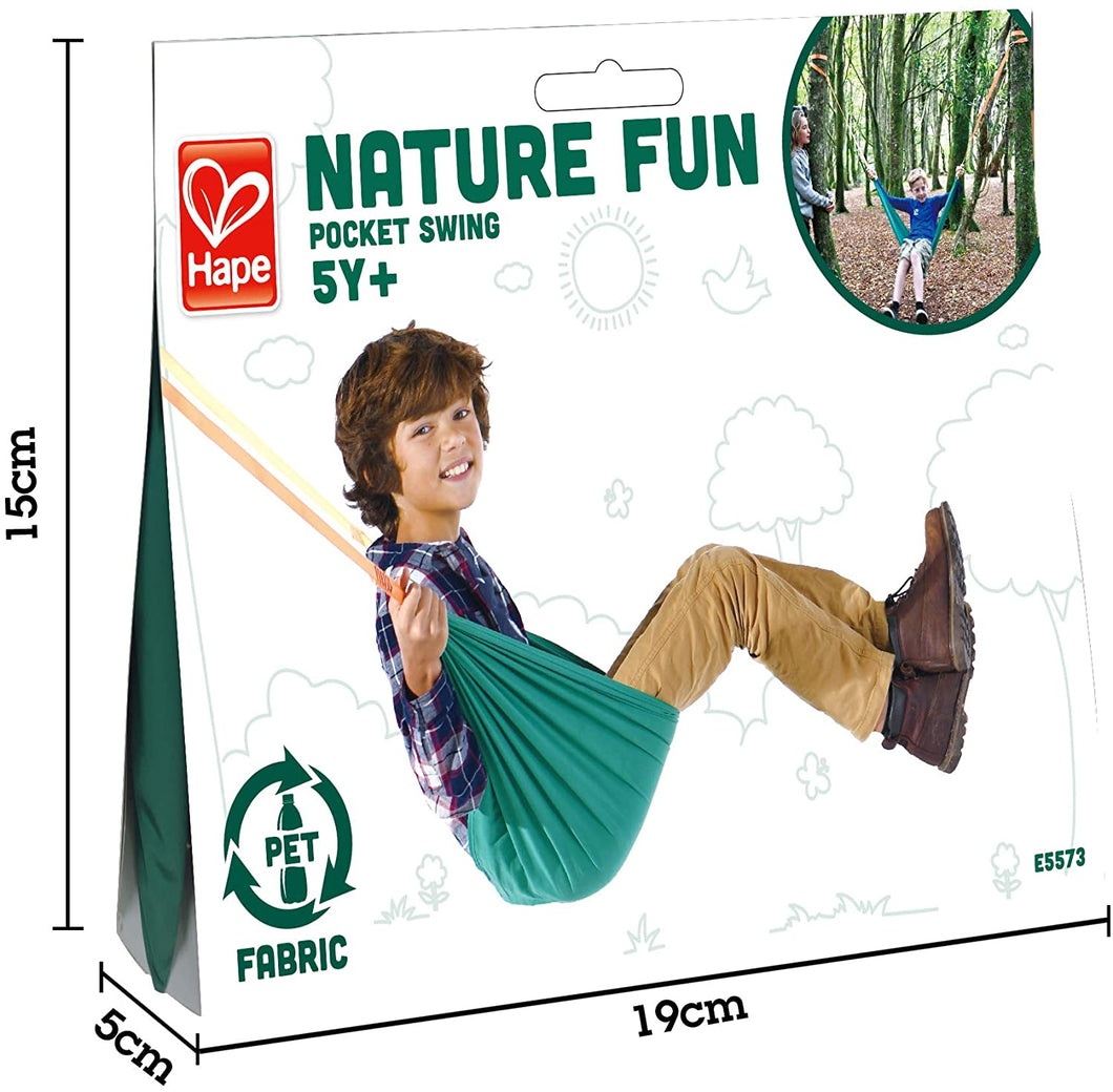 Hape Nature Fun Pocket Swing