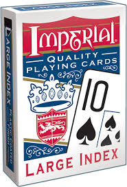 Playing Cards - Large Index - Blue
