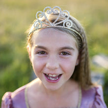 Load image into Gallery viewer, Great Pretenders Silver Glitter Tiara