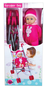 Baby and Stroller Set