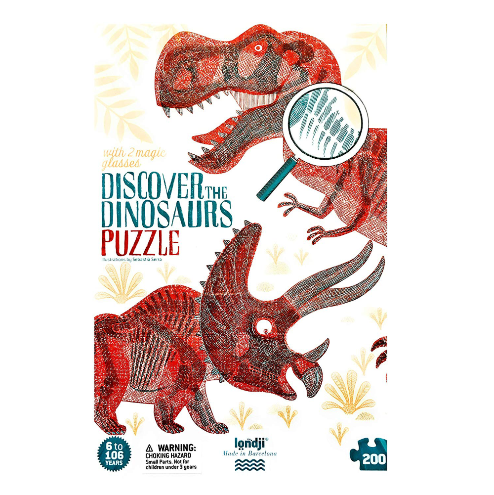 Londji 200pc Discover The Dinosaurs - Look & Find