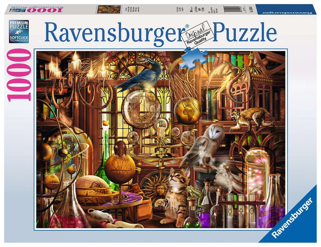 Ravensburger 1000pc Merlin's Laboratory