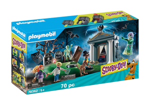 Playmobil - Scooby Doo! - Adventure in the Cemetery - 70362