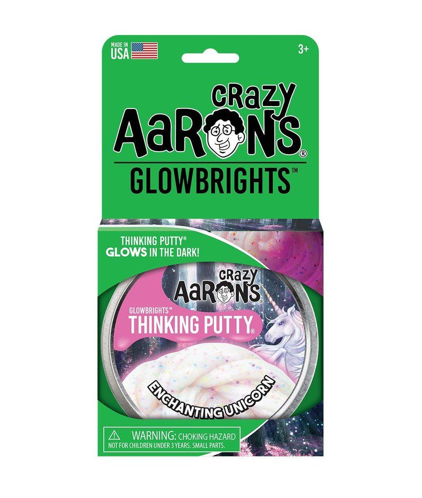 Crazy Aarons Thinking Putty ENCHANTING UNICORN